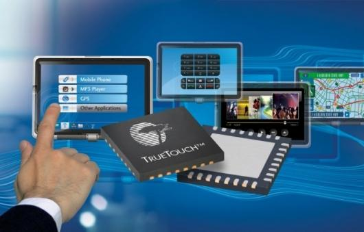 Cypress's TrueTouch™ touchscreen solution