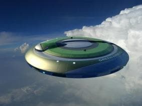 A flying saucer shape is one option to be investigated by the CleanEra group in its push for cleaner, greener and more efficient aircraft body shapes.