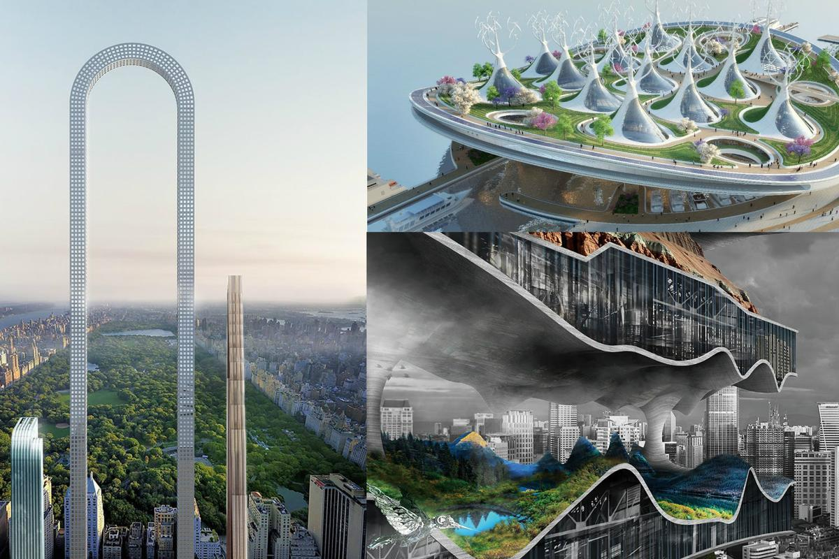 The best conceptual architecture of 2017 was an assortment of mind-bending imaginative designs from some amazing architectural firms