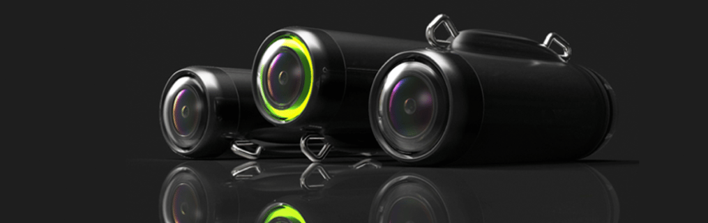 The GoFish Cam features infrared for low-light recording