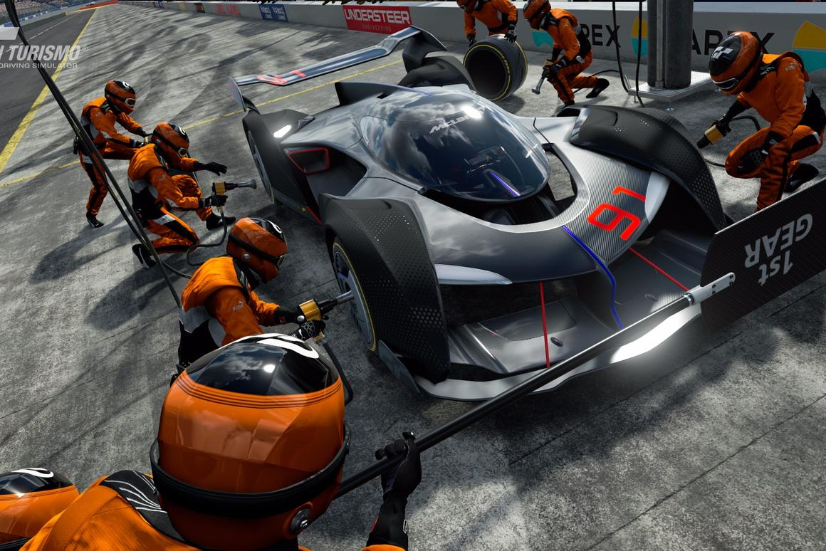 McLaren's Ultimate Vision Gran Turismo puts gamers on their guts