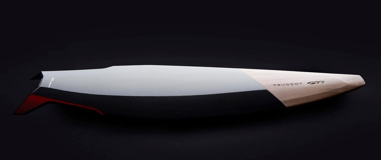 Peugeot Design Lab's GTi Surfboard Concept