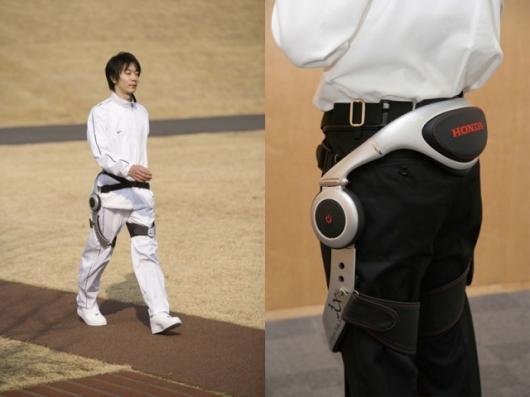 Honda's Experimental Walking Assist Device