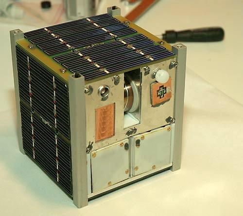 The NASA missions will use CubeSats similar to this Norwegian student satellite NCUBE2 (Photo: Bjørn Pedersen, NTNU)