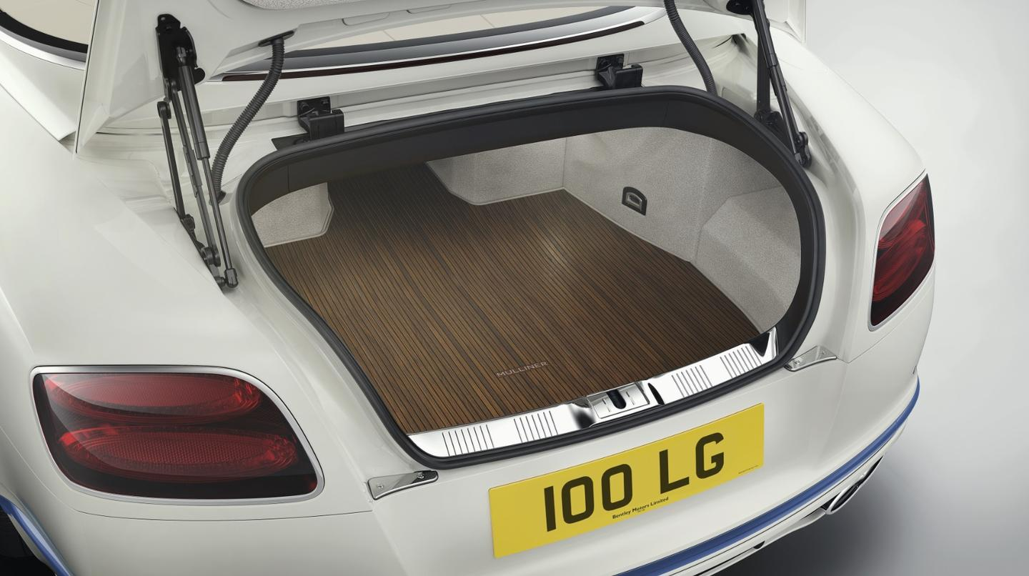 The Pinstripe Walnut brings a new look to the trunk