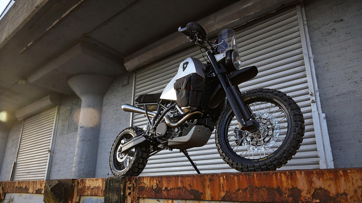 Revit #95 is a rugged no-boundaries adventure bike