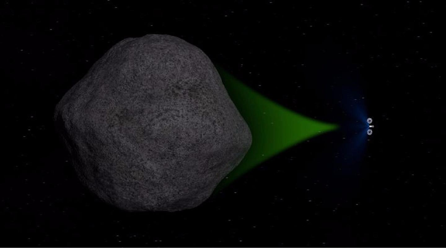 One objective of the ARM mission is to test a gravitational tractor beam technique of steering asteroids