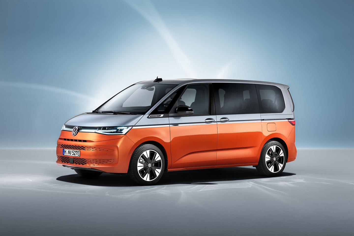 Volkswagen blends past, present and future into the styling of the new T7 Multivan