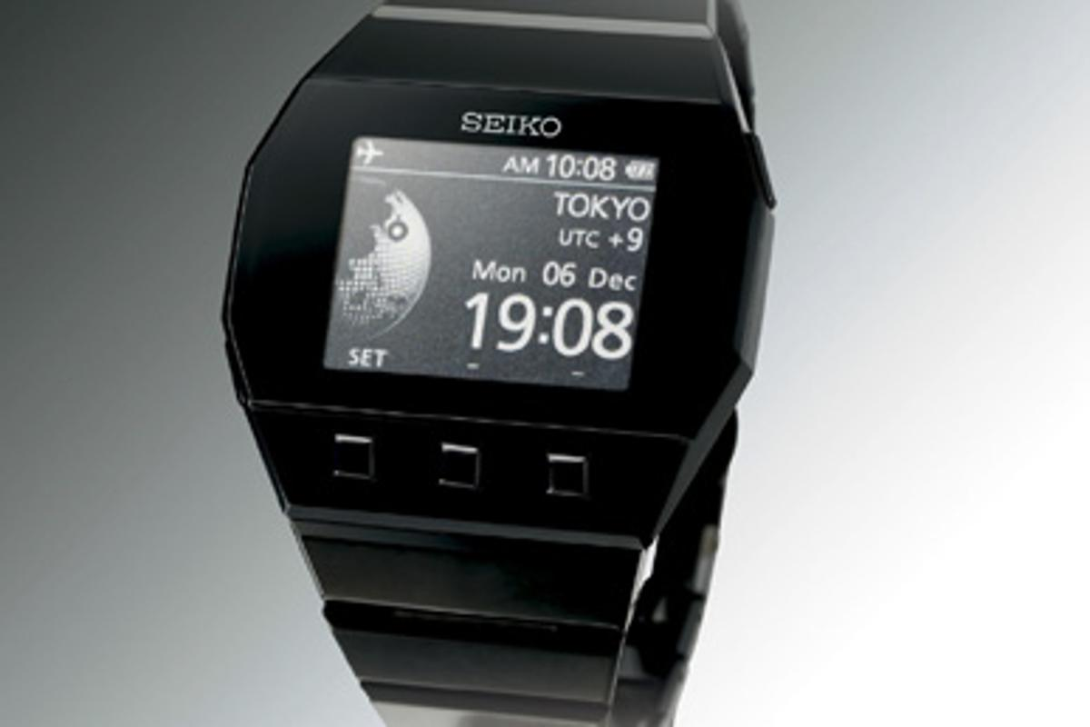 SEIKO's active matrix Electronic Ink watch