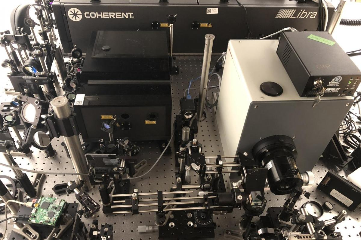 The world's fastest camera can shoot at 10 trillion frames per second