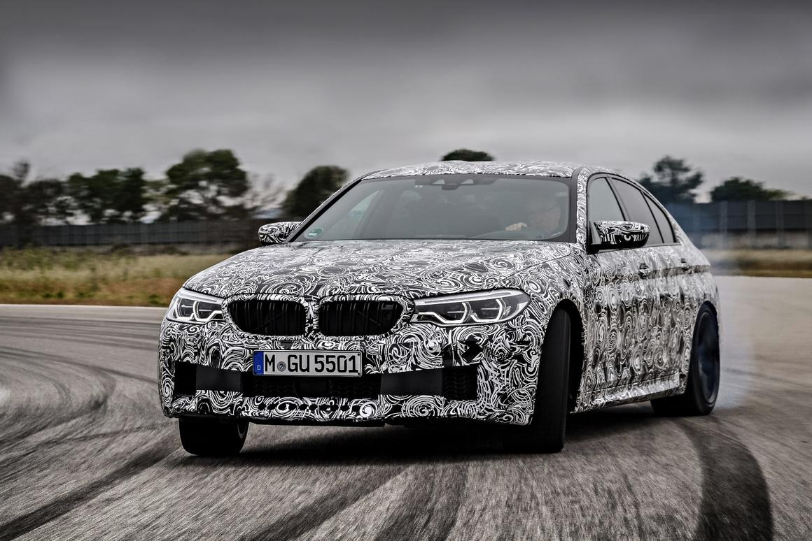 The new BMW M5 will be automatic only