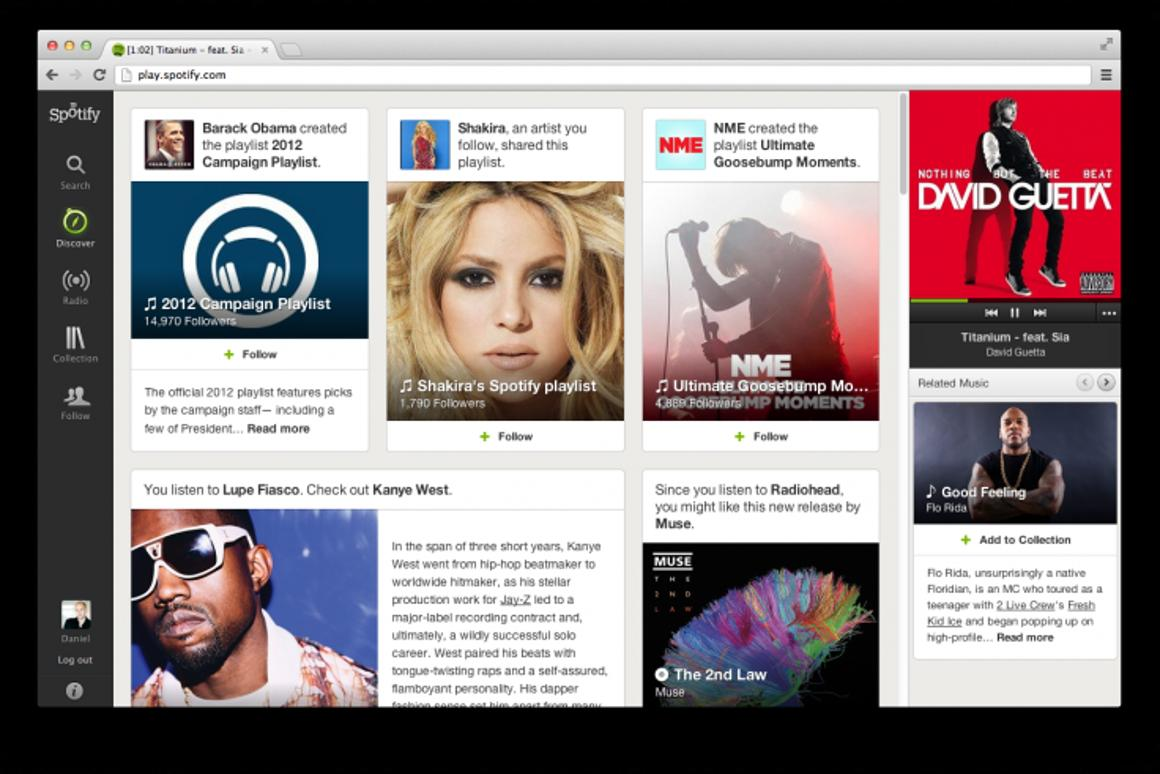 The new Discover and Collections tabs aim to create a more personal user experience