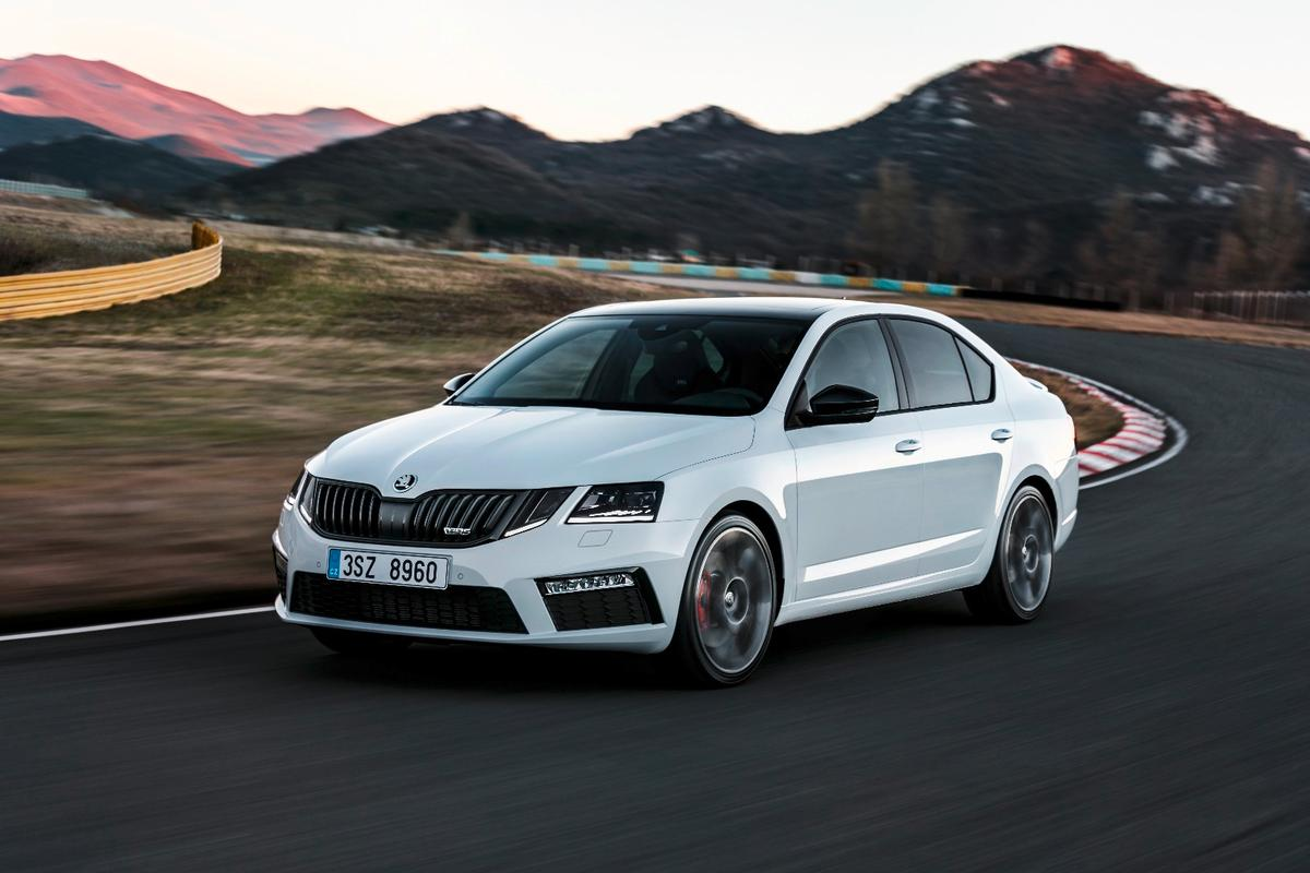 The Octavia RS will be available it petrol and diesel variants
