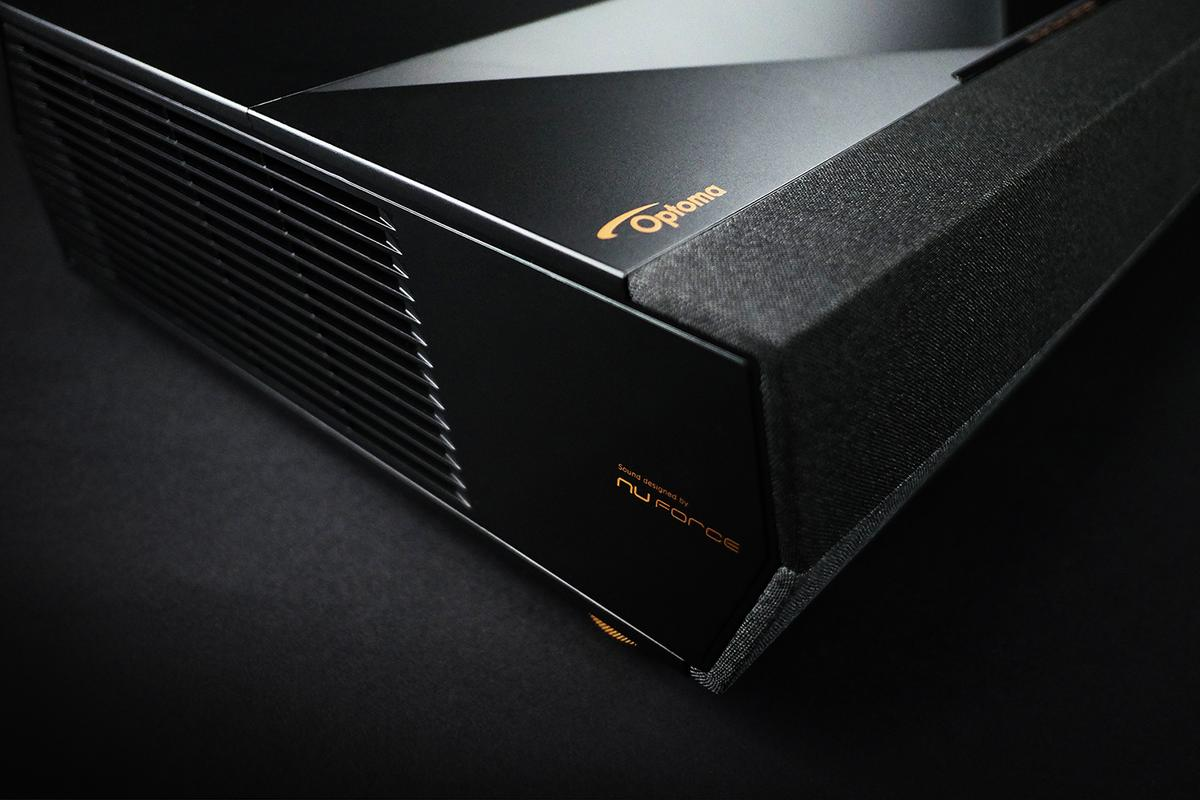Optoma tackles home theater setup complexity with an all-in-one ultra high definition laser projector with integrated soundbar