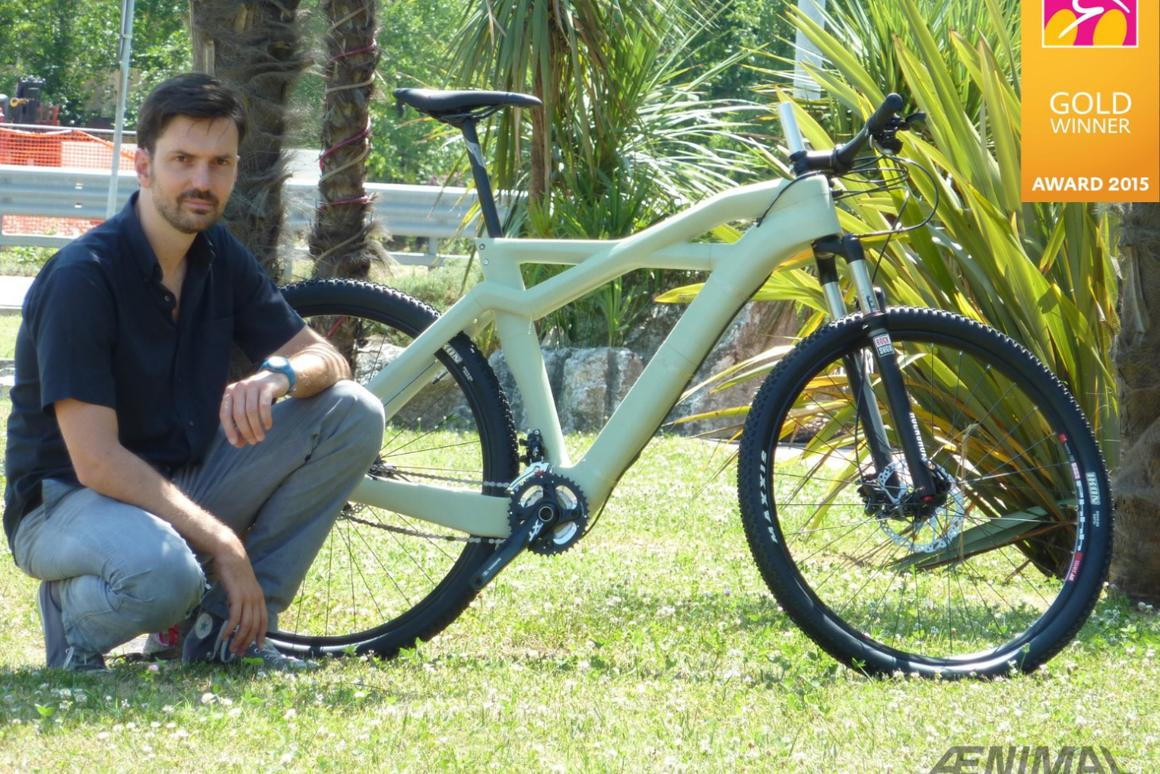 The fully-assembled award-winning Aenimal Bhulk mountain bike