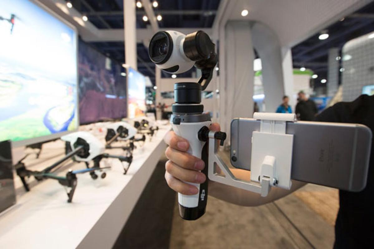 DJI's Inspire 1 Handheld Camera Mount