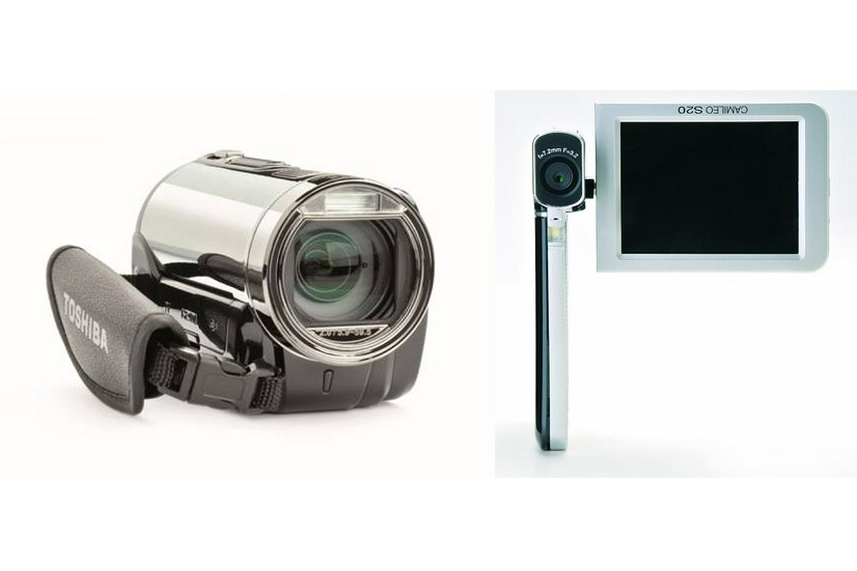 Toshiba's CAMILEO compact camcorders