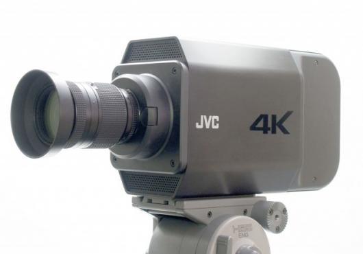 JVC's world first 4K2K 60p video camera