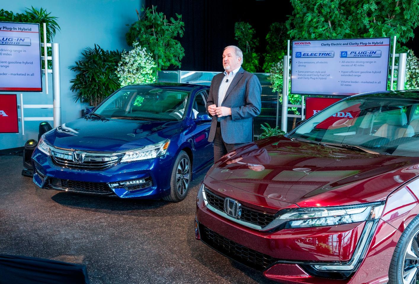 The Honda Accord Hybrid at launch