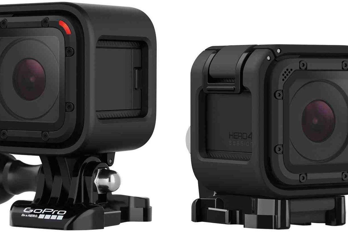 GoPro's new Hero4 Session is the company's tiniest camera yet