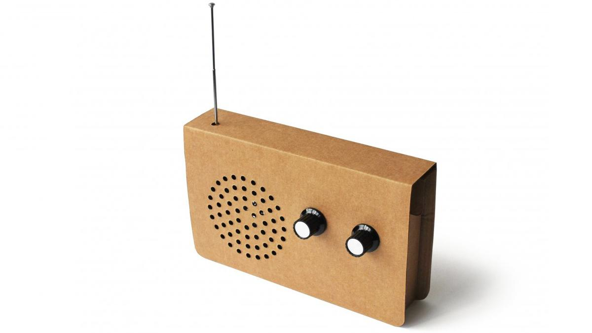 The Card Radio, designed by Chris McNicholl