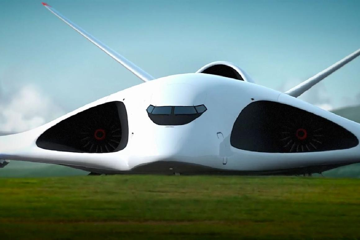 The heavy transport craft concept, dubbed the PAK TA, could fly at supersonic speeds of up to 2,000 km/h (Image: Aleksey Komarov)