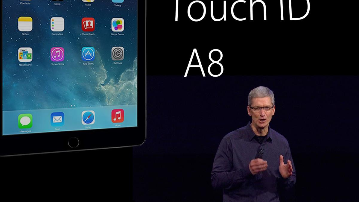 If the report is accurate, we could see Tim Cook telling us about the next iPad Air (and iPad mini) on October 16 (image simulated)