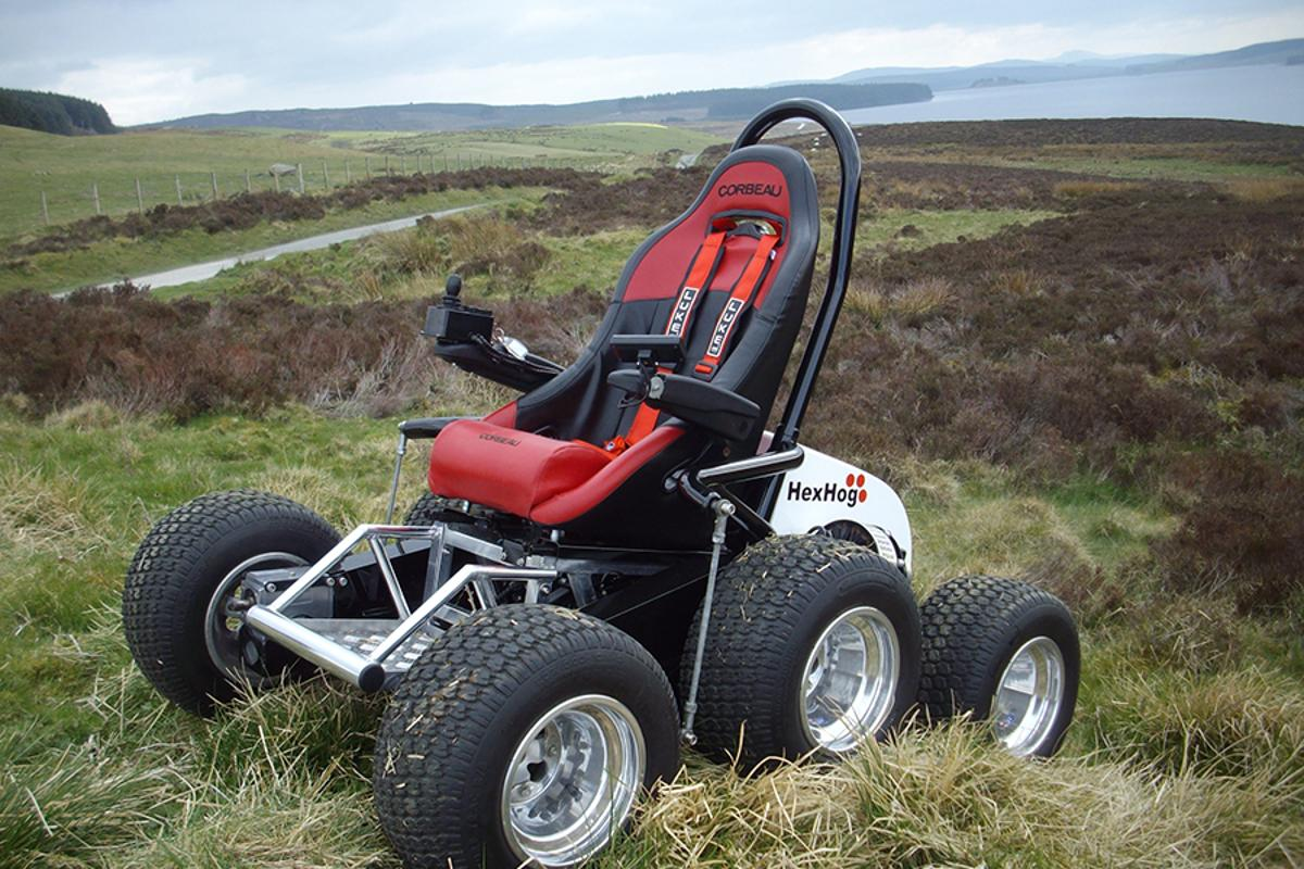The HexHog will set you back from £18,000 to £25,000 (Photo: HexHog)
