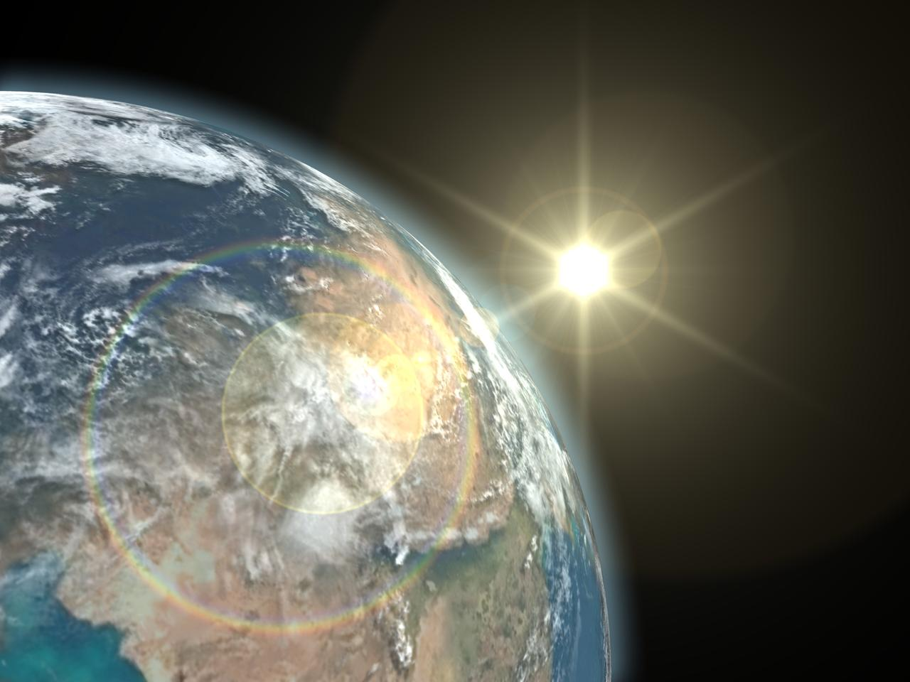 The ultimate goal of the project is to relay power from orbit thousands of miles above Earth (Image: Shutterstock)