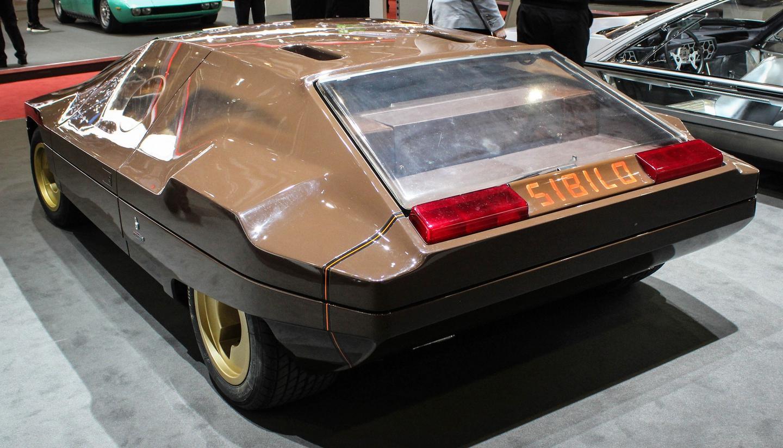 Blast from concept past:The Lancia Bertone Sibilo