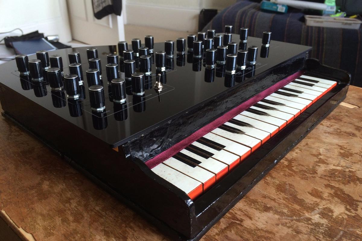The Vintage Toy Synthesizer from the UK's Liam Lacey
