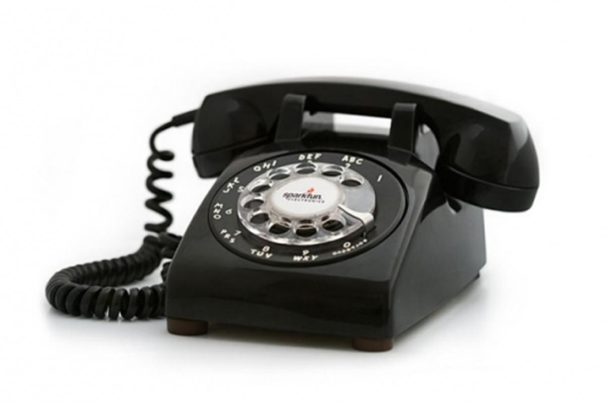 Just like an old phone nly moderner