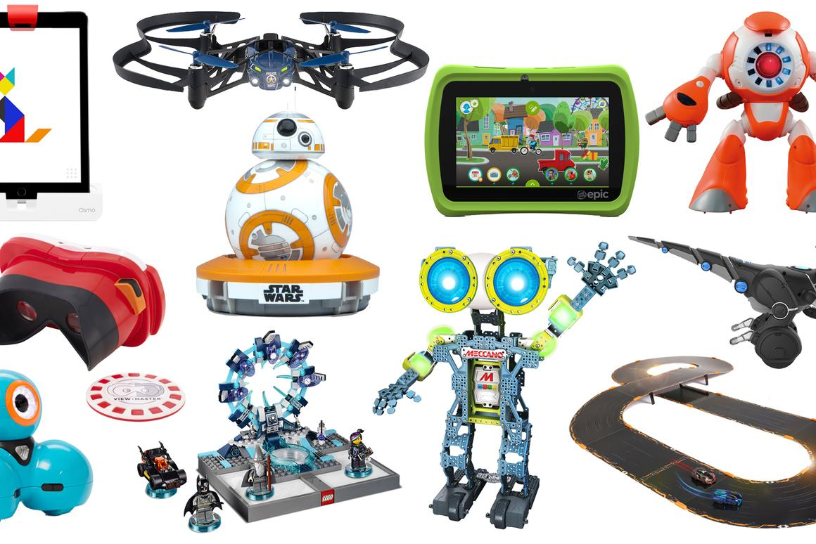 Gizmag looks at some of the best tech toys for Christmas 2015