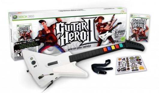 Guitar Hero II Box Contents