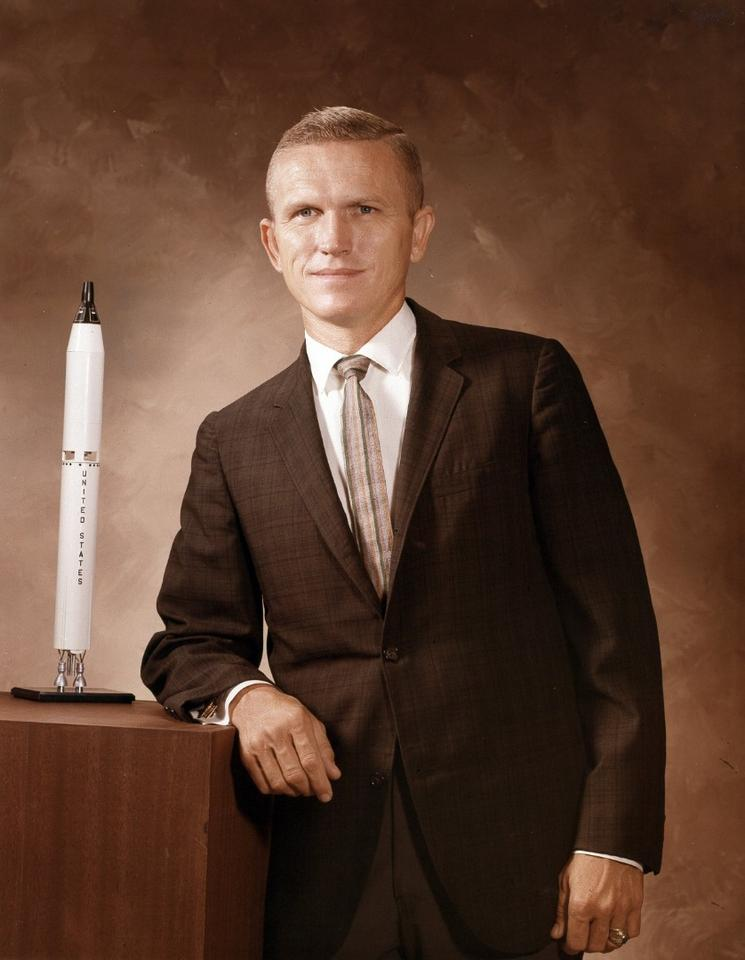 Commander Frank Borman