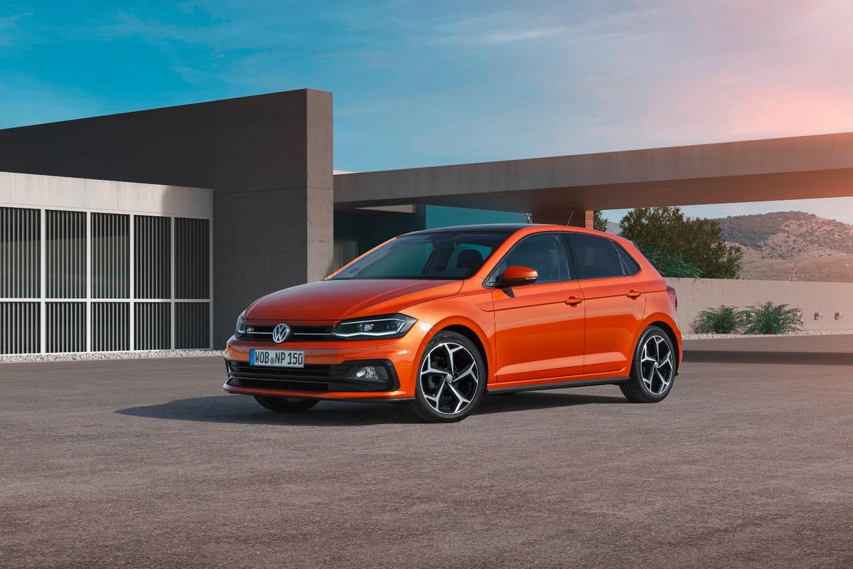 The VW design language translates well to the new Polo