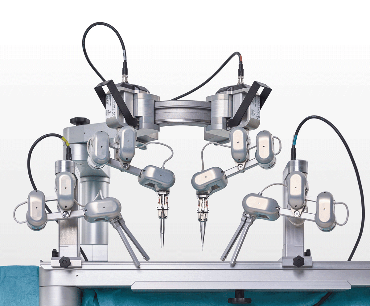 Microsure's Musa robot is built to carry out delicate surgeries reconnecting blood and lymph vessels