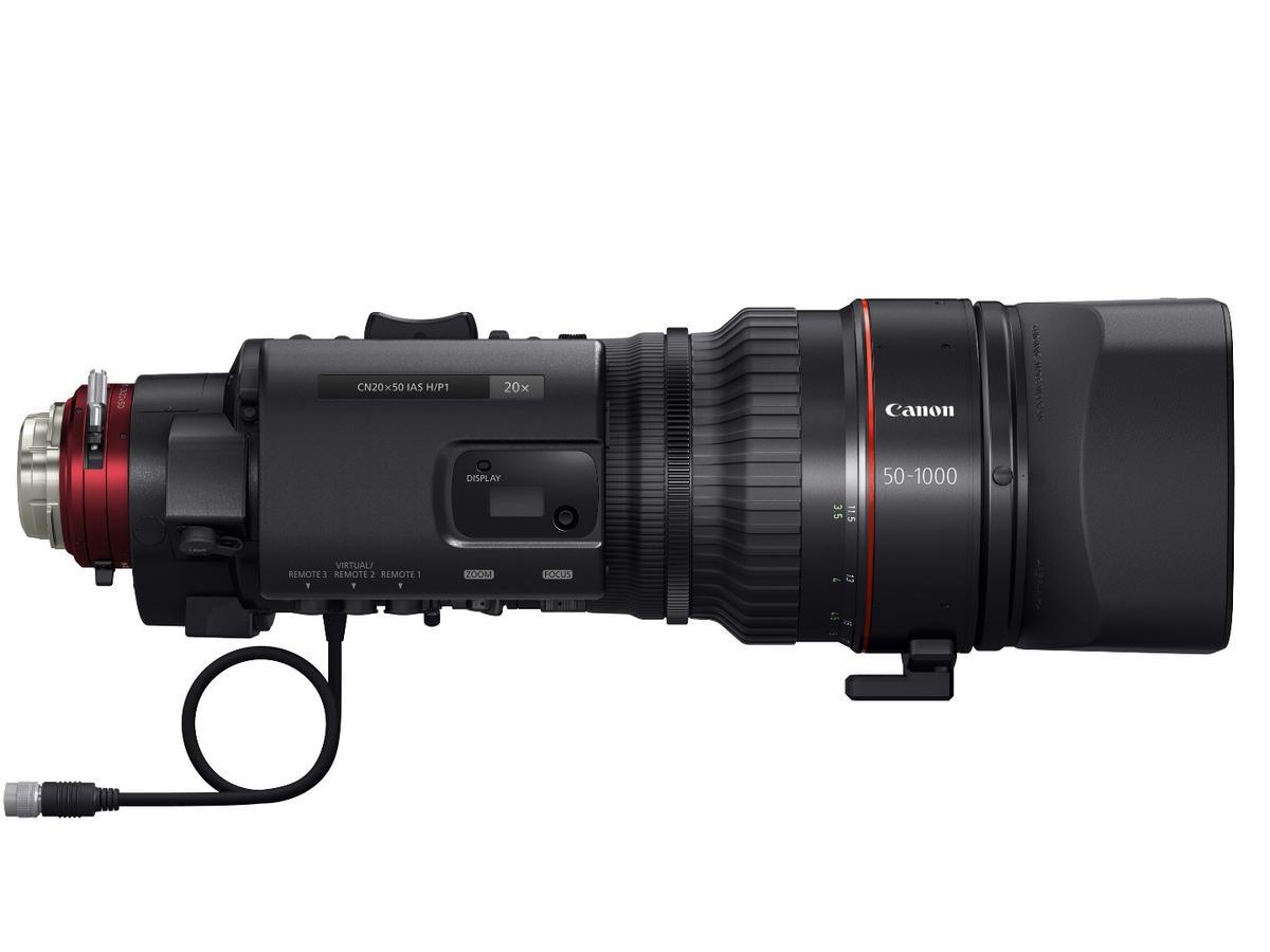 Canon's Cine-Servo 50-1000mm T5.0-8.9PL isan exceptional achievement