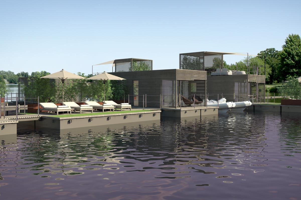 Abifloat floating villas by Christian Grande
