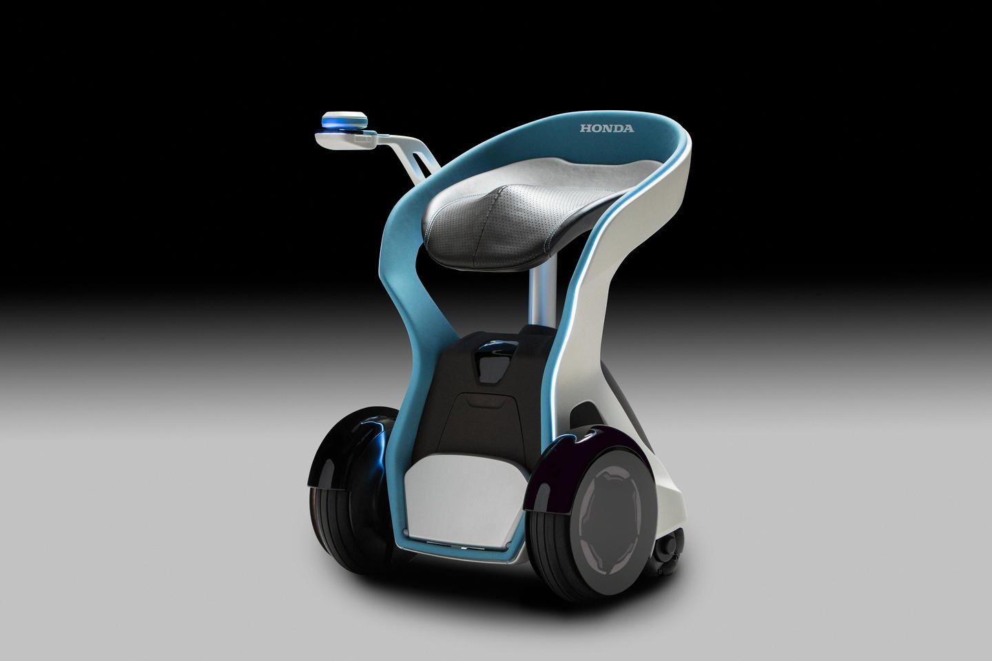 Honda's 3E-B18 concept has been developed to help people get around with ease and in comfort