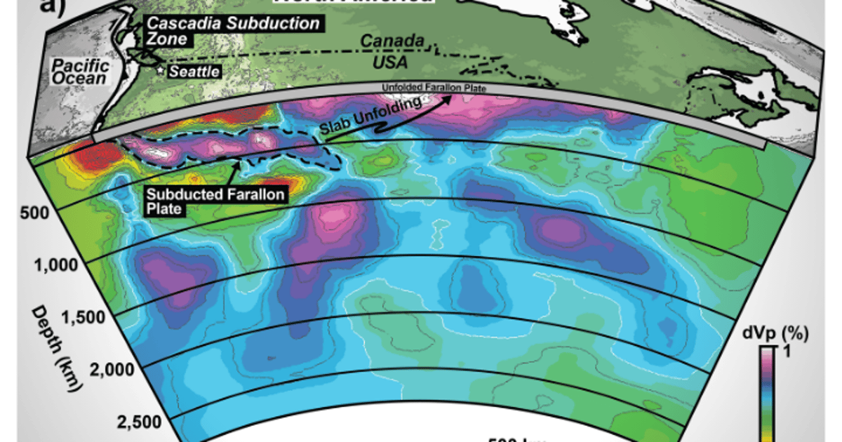 Ancient tectonic plate discovered beneath Canada, geologists claim