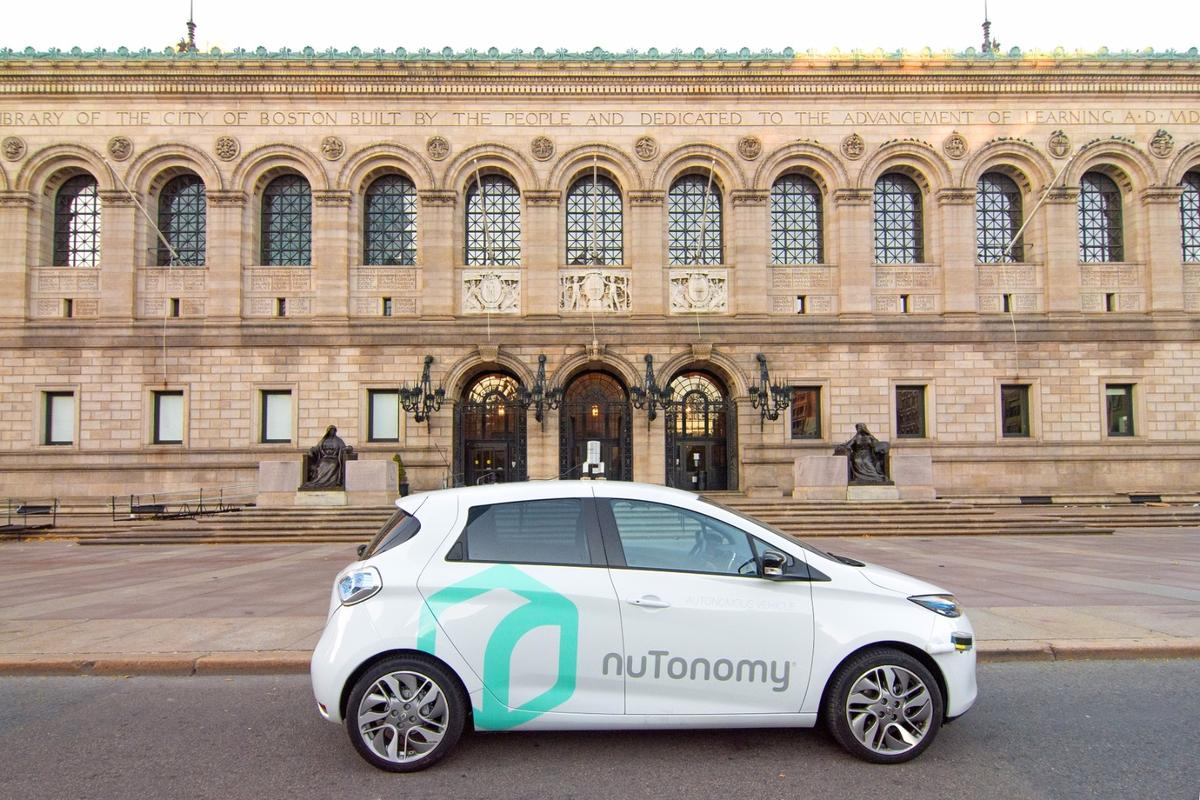The testing will allow nuTonomy's software to learn the local road signs and markings and help it to develop its understanding of pedestrian, cyclist and driver behavior