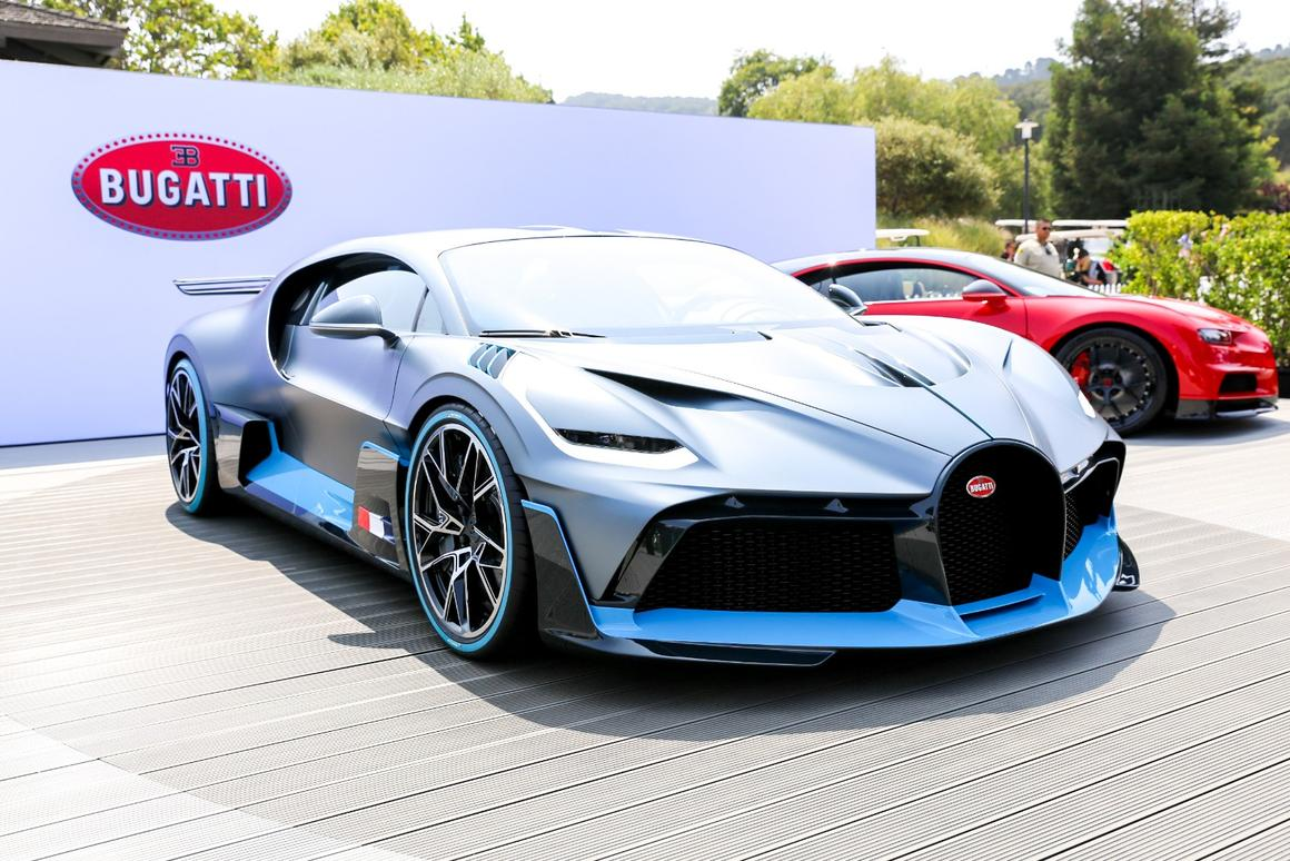 Bugatti's US$5.8 million Divo, a sharper handling Chiron with a sexier body kit