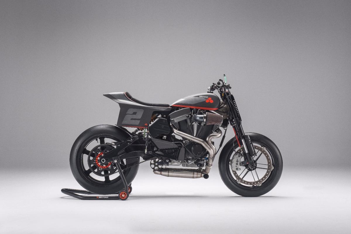 Bottpower XR1R:150 horsepower, 150 kg and a heart of Buell