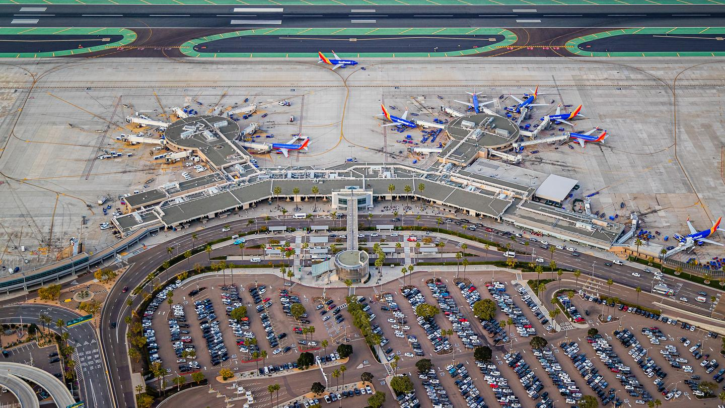 San Diego International Airport, Terminal 1
