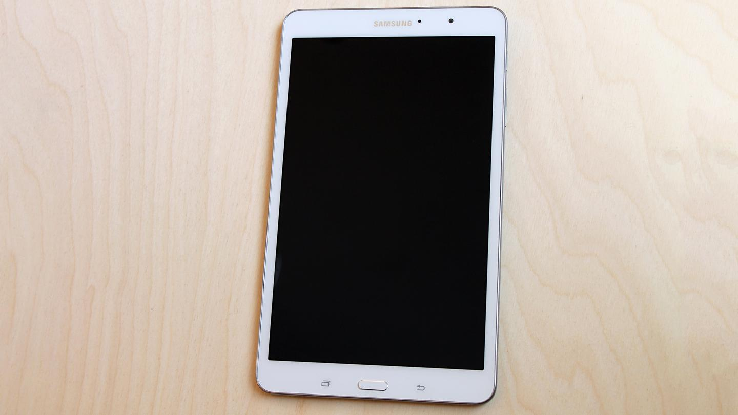 The Galaxy Tab Pro 8.4's screen is six percent bigger than the iPad mini's