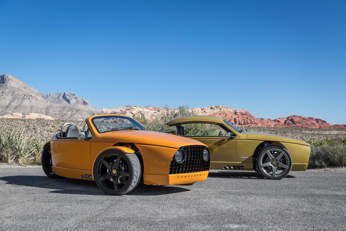 Vanderhall is the new kid on the block, but the Laguna looks like a well thought-out bit of design