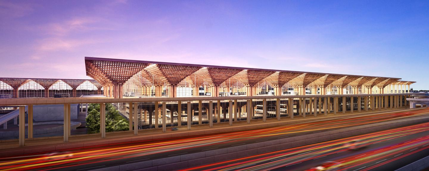 Suvarnabhumi International Passenger Terminal II was commissioned following an architecture competition