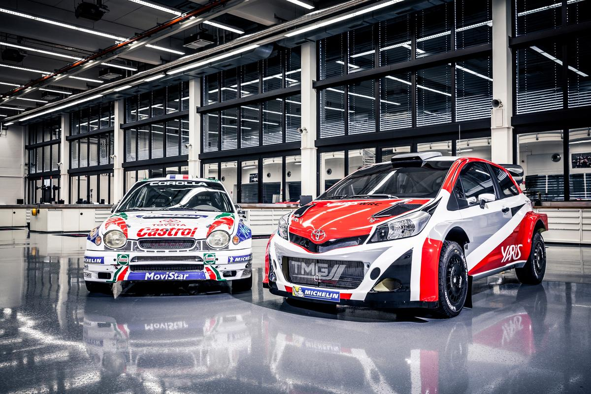 Toyota is hoping the WRC Yaris can carry on from the success of its legendary rally cars in the 1990s