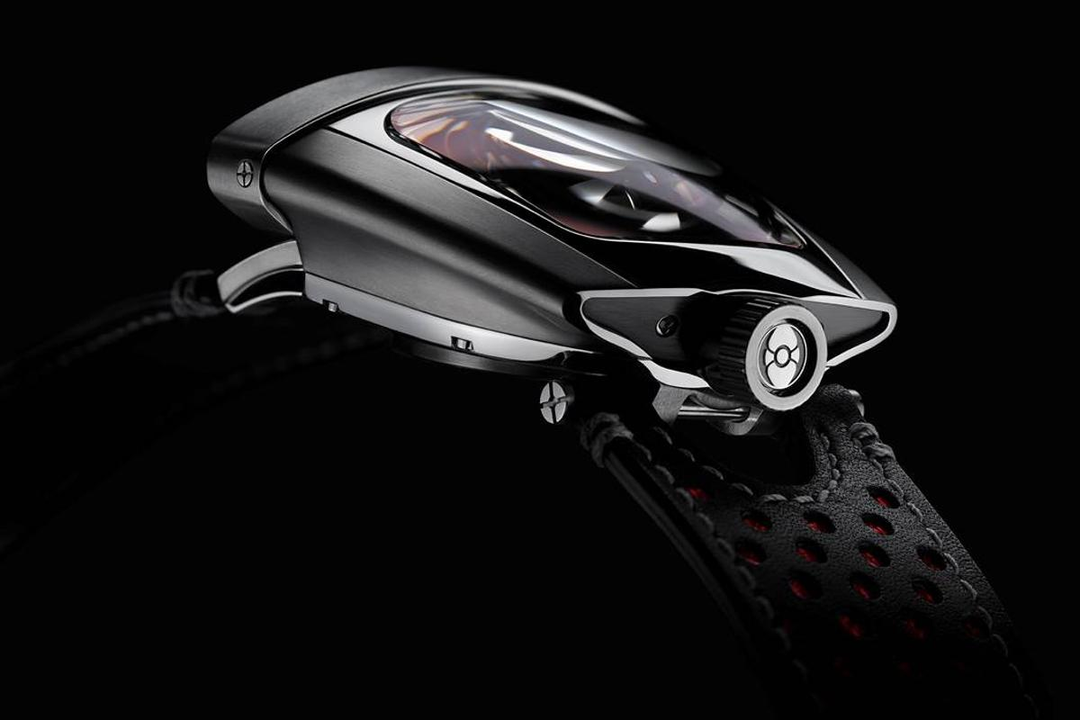 MB&F's latest timepiece, known as the HMX, is every bit as unique as we've come to expect from the company